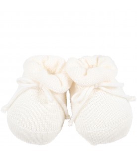 Ivory bootee for baby kids