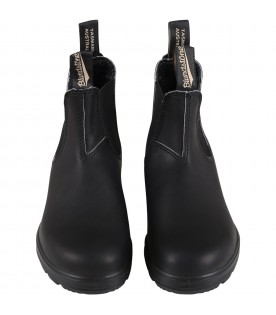 Black boots for kids