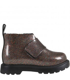 Multicolor boots for girl
