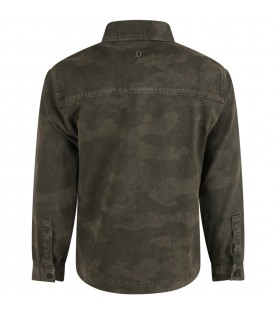 Green jacket for boy