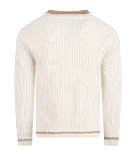 Ivory sweater for boy