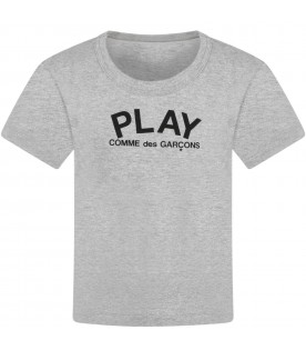 Grey t-shirt for kids