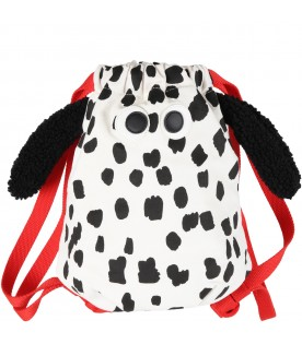 White bag for kids with ears