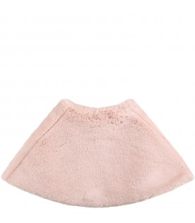 Pink cape for baby girl