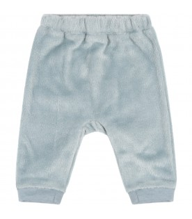 Light-blue trousers for baby boy
