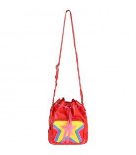 Red bag for girl with stars