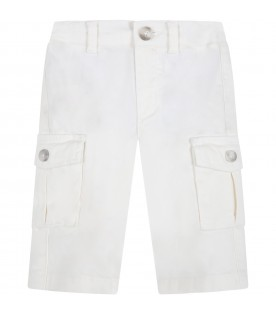 White pants for baby boy