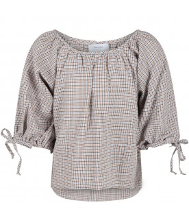 Multicolor blouse for girl