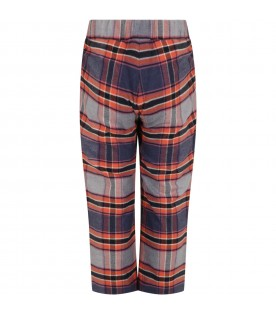Multicolor trousers for boy