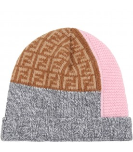 Multicolor hat for baby girl