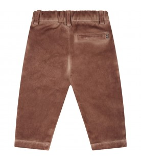 Brown pants for baby boy