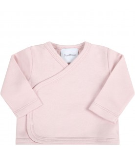 Pink suit for baby girl