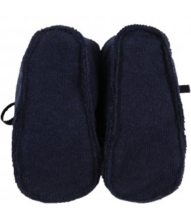 Blue shoes for baby kids