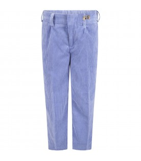 Wisteria trousers for kids with logo