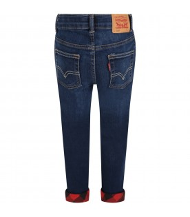 Blue ''512'' jeans for boy