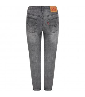 Grey ''502'' jeans for boy