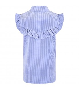Lilac dress for girl