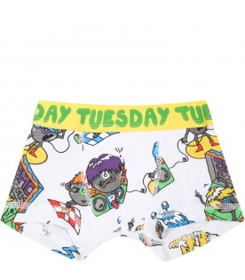 Multicolor set for boy with monsters