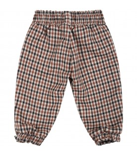Multicolor pants for baby girl