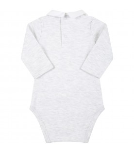 Grey body for baby kids with logo
