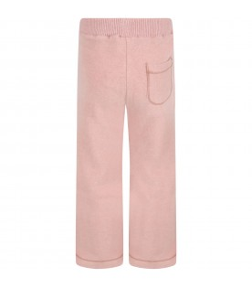 """Pink """"Denise"""" trousers for girl"""