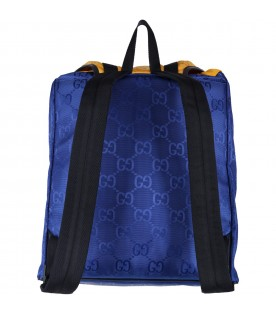 Multicolor backpack for kids with doubles GG