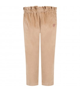 Brown trouser for baby girl