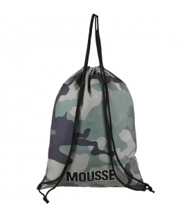 Multicolor bag for boy with logo