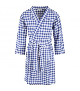 Multicolor dressing gown for boy