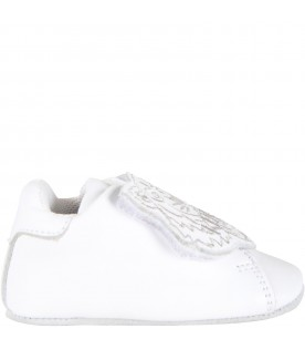 White shoes for baby kids