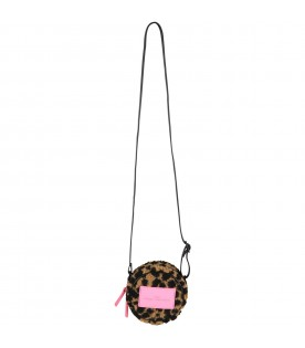 Multicolor bag for girl with logo