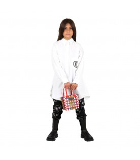 White shirt for kids with logo
