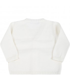 Ivory cardigan for baby kids