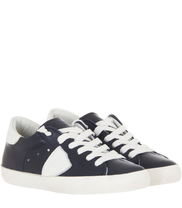 PHILIPPE MODEL KIDS Blue navy sneaker