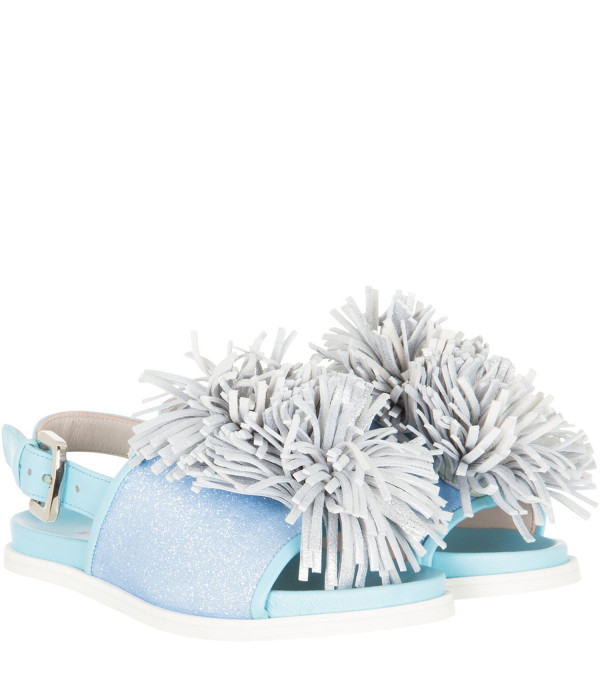 MINNA PARIKKA MINI Sandals with glitterate details