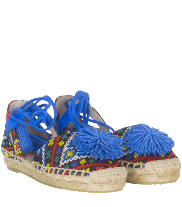 "AQUAZZURA MINI Espadrilla ""Sunshine"" multicolor"