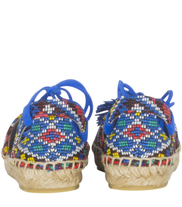 "AQUAZZURA MINI Colorful ""Sunshine"" espadrilla"
