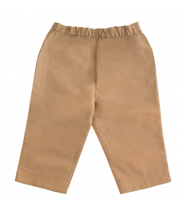 BURBERRY KIDS Reversible beige trouser