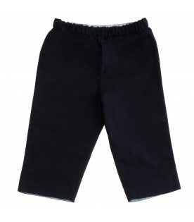BURBERRY KIDS Reversible blu trouser