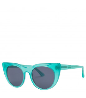 Water green Angel sunglasses for kids