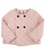 Burberry Kids Trapuntina Coco rosa