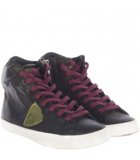 PHILIPPE MODEL KIDS Sneaker alta nera