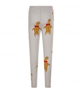 "Leggings ""Turtle"" grigi"