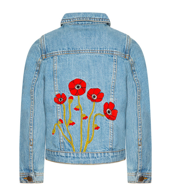 """IT'S IN MY JEANS Giacca denim bambina """"Bloom"""""""