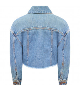 "Blue denim Girl "" Oia"" Jacket"