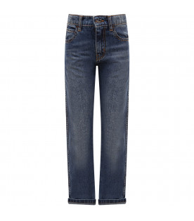 "IT'S IN MY JEANS Jeans Bambino Blu ""Monaco"""