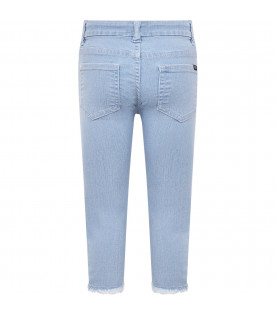"IT'S IN MY JEANS Light blue girl ""Megan"" jeans"