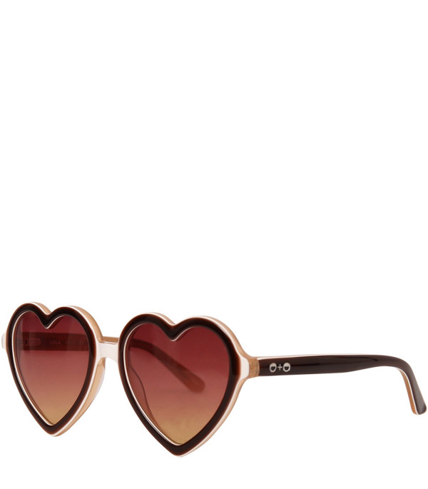 SONS+DAUGHTERS Brown Lola sunglasses