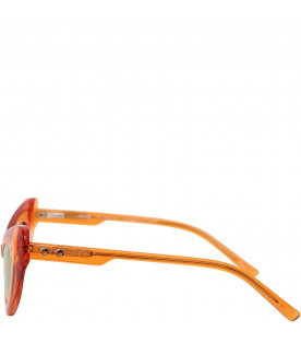 SONS+DAUGHTERS Orange Josie sunglasses