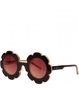 SONS+DAUGHTERS Brown Pixie sunglasses